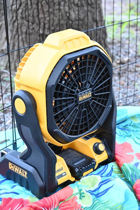 Dewalt Fan - camping supplies