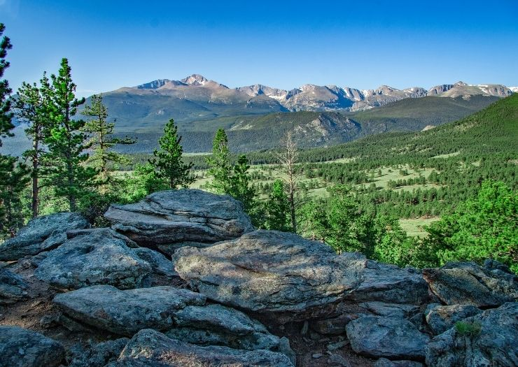 Rocky National Mountain Park