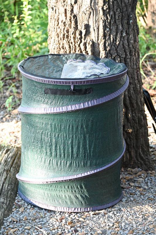 Portable Trashcan - camping supplies