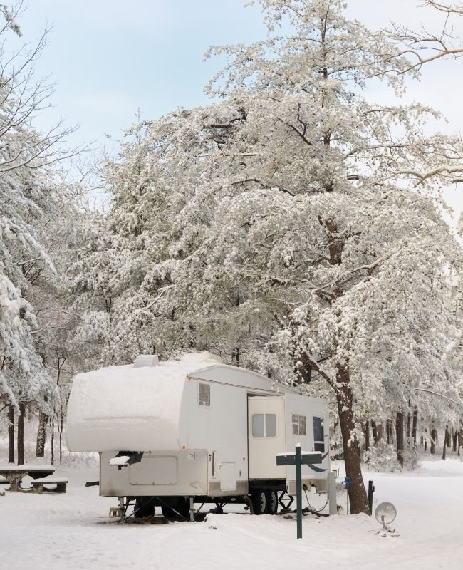 Camping in the Winter With Your RV