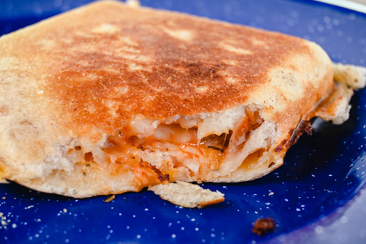 Pie Iron Pizza Pockets Perfect for Camping