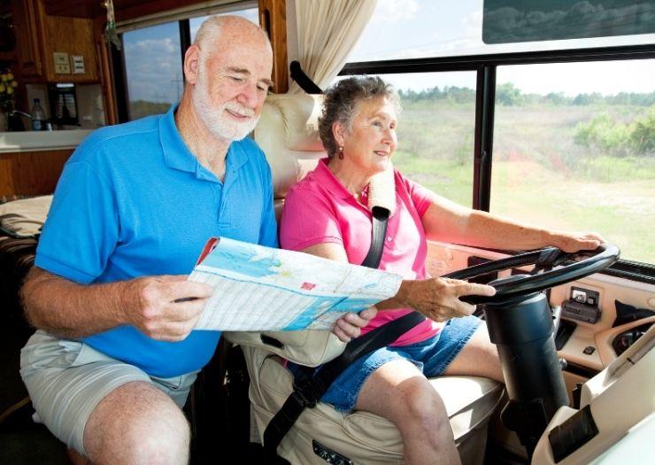 RV older couple