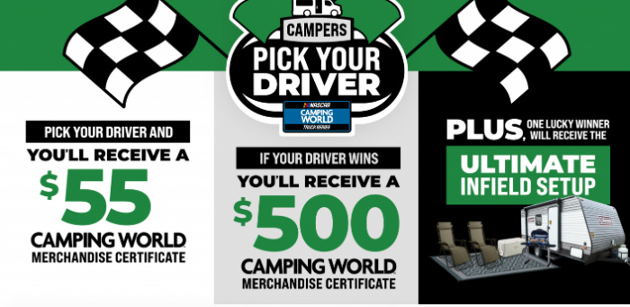 Camping World Promotions: Free $55 in Merchandise Hurry!