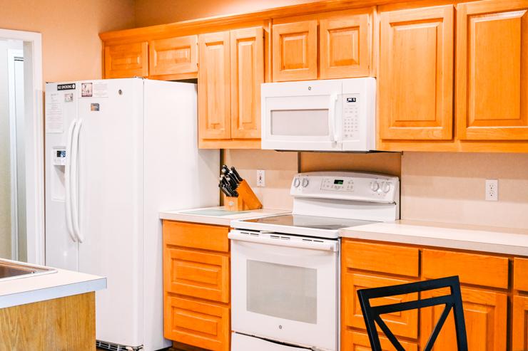Deer Lake house kitchen