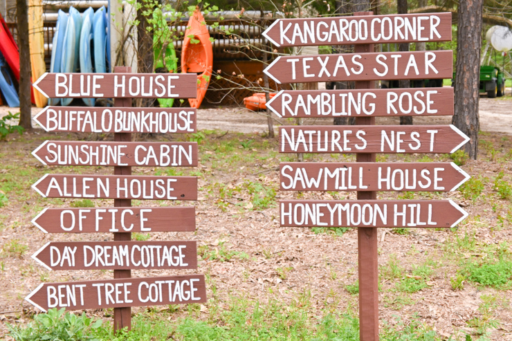 Deer Lake signs