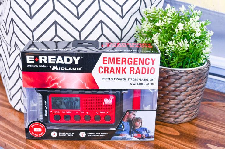 Midland Crank Radio - camping list
