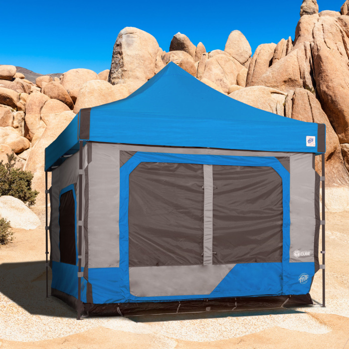EZ Up Camping Cube - camping list