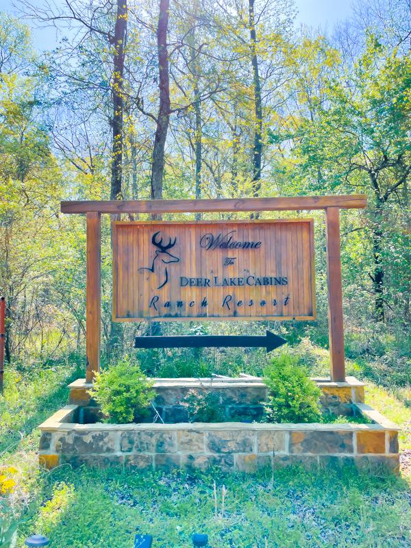 Deer Lake Sign