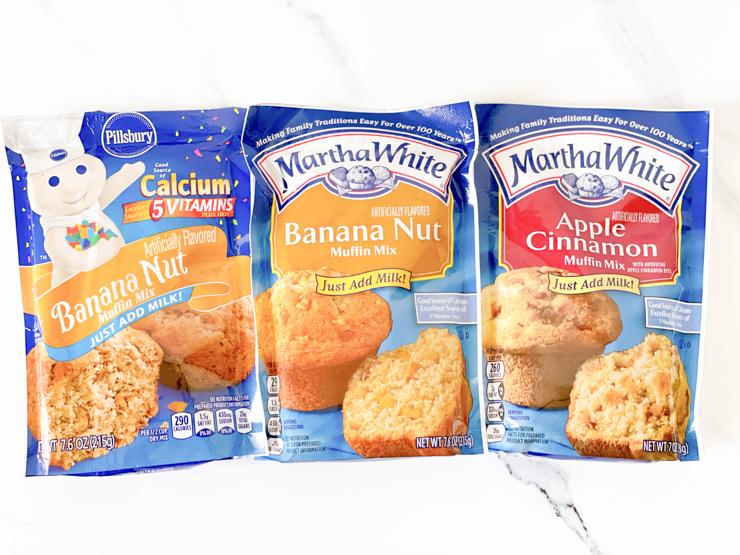 Muffin Mix Pancakes - Muffin Mix