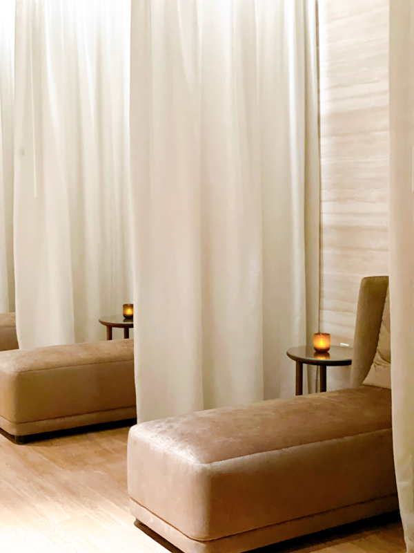 Omni Spa relaxation room