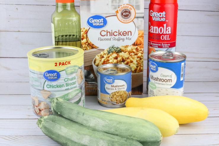 Dutch Oven Dinner ingredients