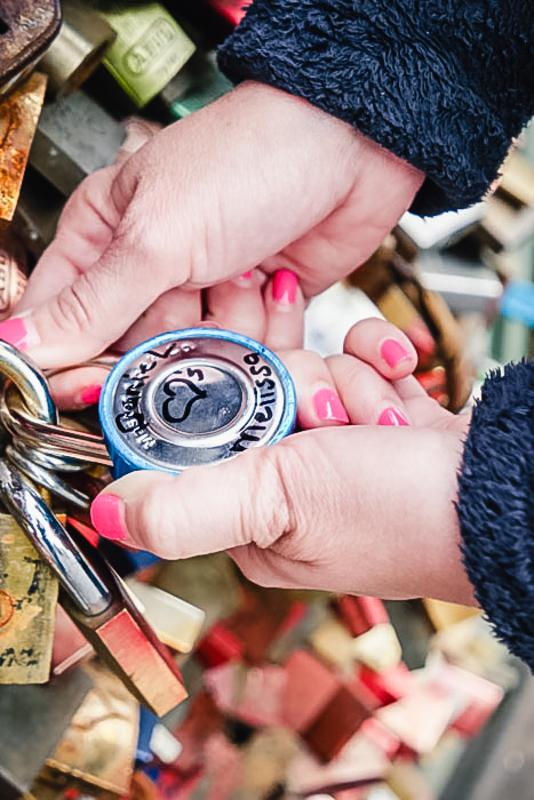 The Lock Bridge Lock Hands