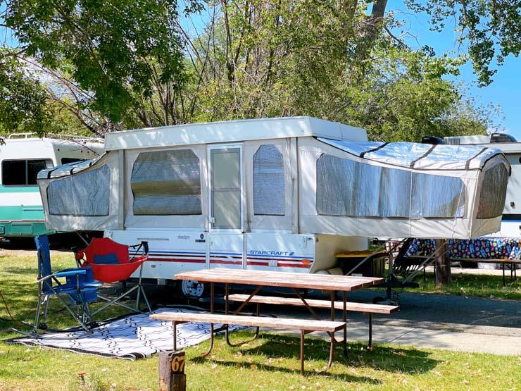 Pop up camper cody ponderosa