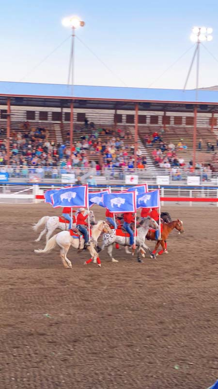 Cody Nite Rodeo in Cody Wyoming